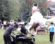 成婚这么玩新娘疯了吧