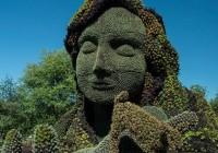 加拿大国际立体花坛大赛创意作品